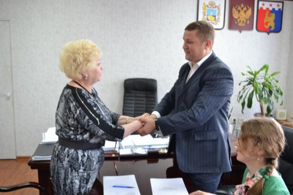 Подписано соглашение по органам местного самоуправления Красногвардейского муниципального района