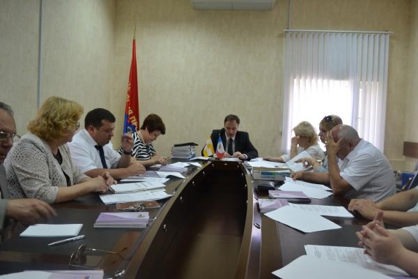 Плановое заседание президиума