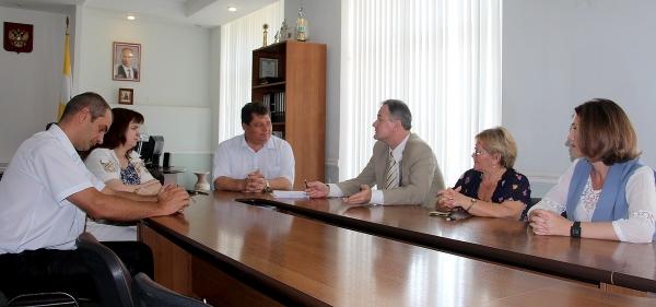 Cостоялось заседание отраслевой территориальной комиссии