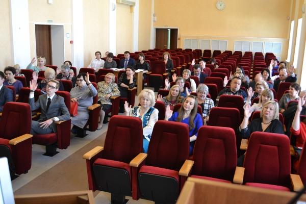XII заседание комитета Ставропольской краевой организации Общероссийского профсоюза