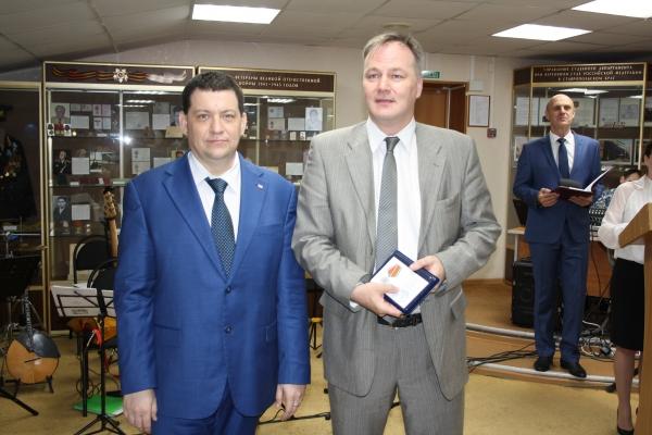 В Управлении Судебного департамента в Ставропольском крае состоялось торжественное мероприятие, посвященное награждению, приуроченному к празднованию Дня России