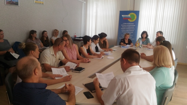 Объединенная конференция в Курском муниципальном районе Ставропольского края.