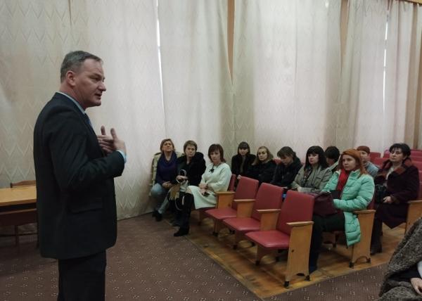 Совещание с руководством администрации Кировского муниципального района и работодателями отрасли госучреждений данного муниципального района