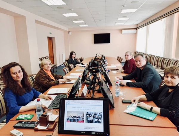 Заседание наблюдательного совета ГАУ ДПО «Центр повышения квалификации и профессиональной переподготовки работников социальной сферы»