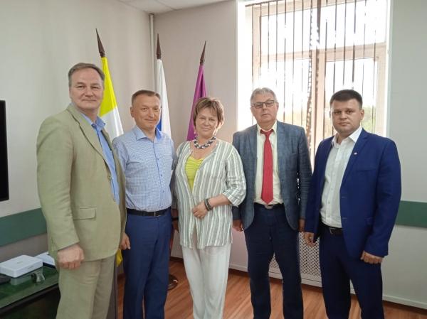 В Ставропольском крае состоялся ряд мероприятий с участием главного технического инспектора труда ЦК Профсоюза А.И.Лебедева.